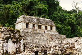 Palenque's famous tomb of Pacal Votan
